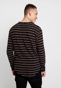 Tigha - ALISTER - Pullover - black/pale brown - 2
