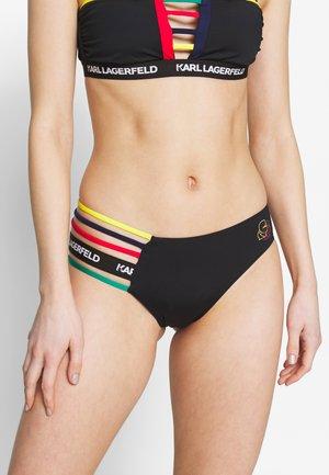 BAUHAUS SPORT BOTTOM - Bikini bottoms - black