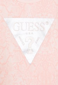 Guess - SHIRT AND LEGGINGS BABY SET - Long sleeved top - light pink - 3