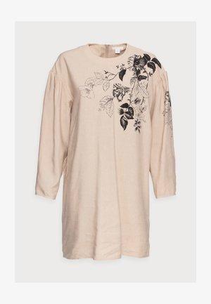 DAY DRESS - Korte jurk - beige