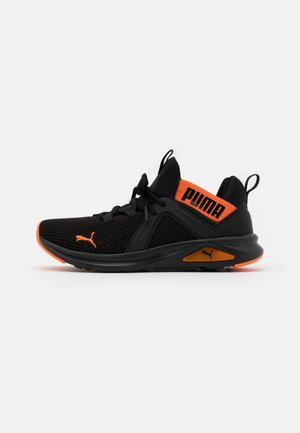 ENZO 2 WEAVE UNISEX - Scarpe running neutre - black/orange