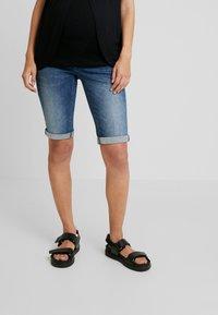Noppies - BOBBY - Denim shorts - every day blue - 0