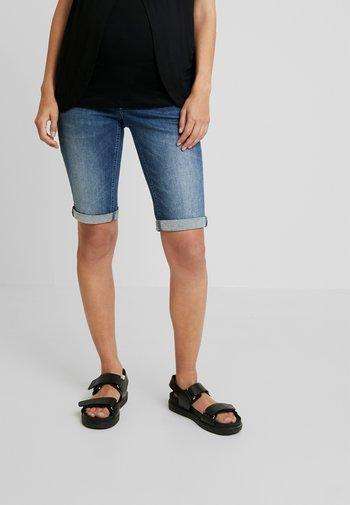 BOBBY - Denim shorts - every day blue