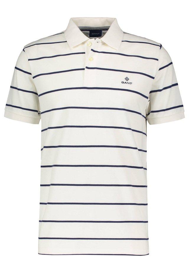 BRETON STRIPE RUGGER - Poloshirt - offwhite (20)