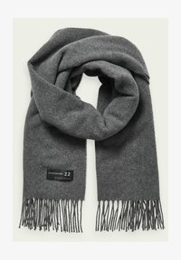 Scotch & Soda - Scarf - graphite melange - 0