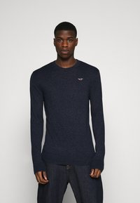 Hollister Co. - CORE CREW - Pullover - navy - 0
