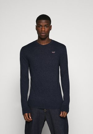 CORE CREW - Strickpullover - navy
