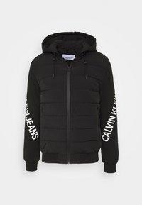 Calvin Klein Jeans - LOGO JACKET - Giacca invernale - black - 0