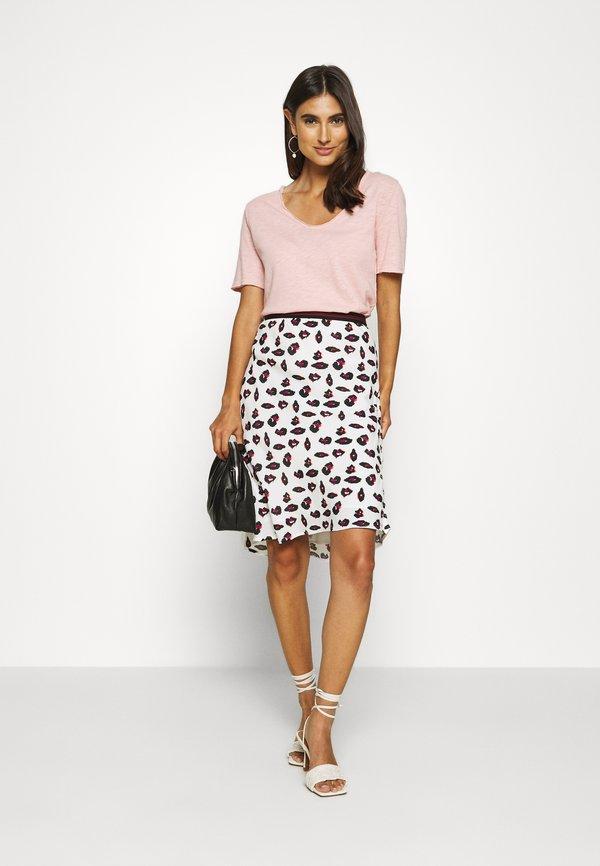 Rich & Royal HEAVY SHIRT - T-shirt z nadrukiem - blush pink Kolor jednolity Odzież Damska ZOXM OZ 6