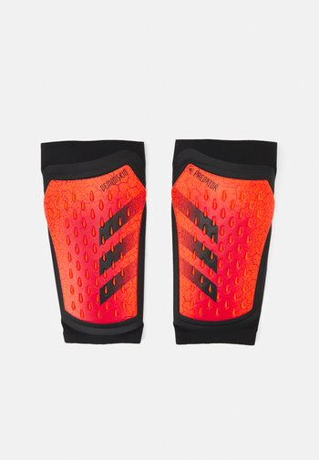PREDATOR PRO UNISEX - Leggbeskyttere - solar red/black/red