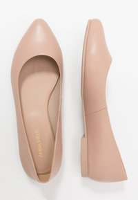 Anna Field - LEATHER BALLERINAS - Ballet pumps - nude - 3