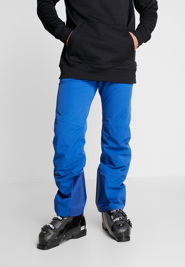 MEN FORMULA PANTS - Ski- & snowboardbukser - southern blue