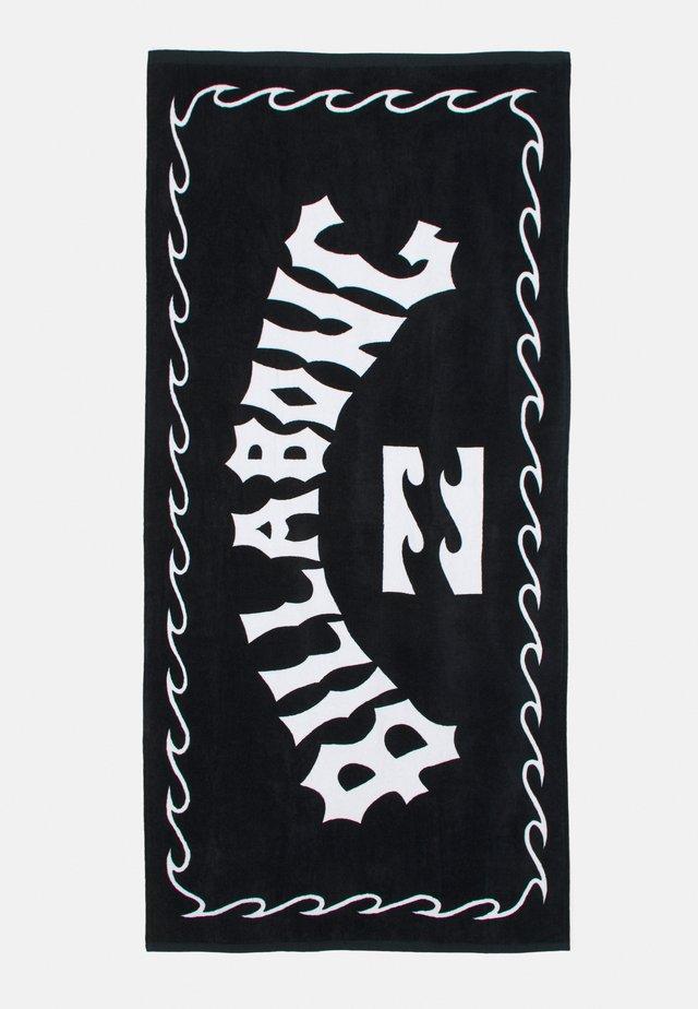 ARCH WAVE TOWEL - Beach towel - black
