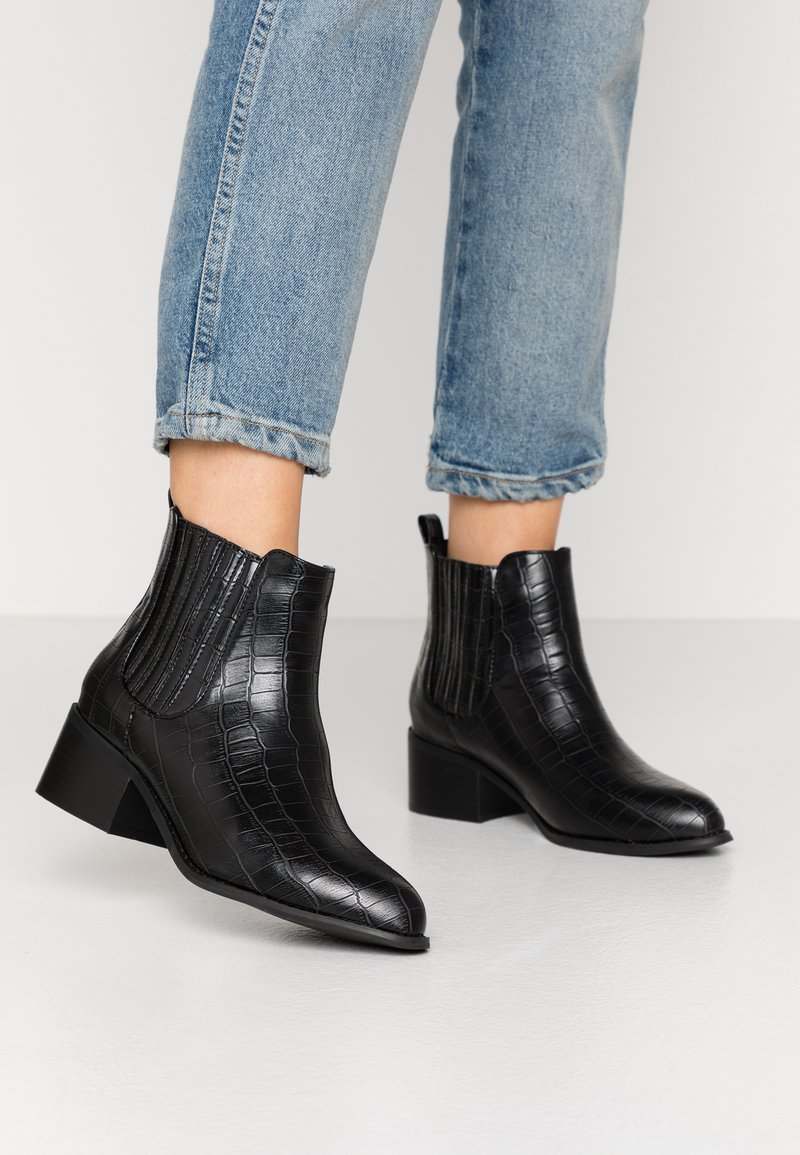 Glamorous Wide Fit - Ankelboots - black