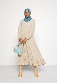 Glamorous - MODESTY TIERED MAXI DRESS - Maxi dress - soft peach - 1