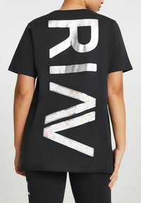 River Island - ACTIVE GRAPHIC BOYFRIEND - Print T-shirt - grey - 2