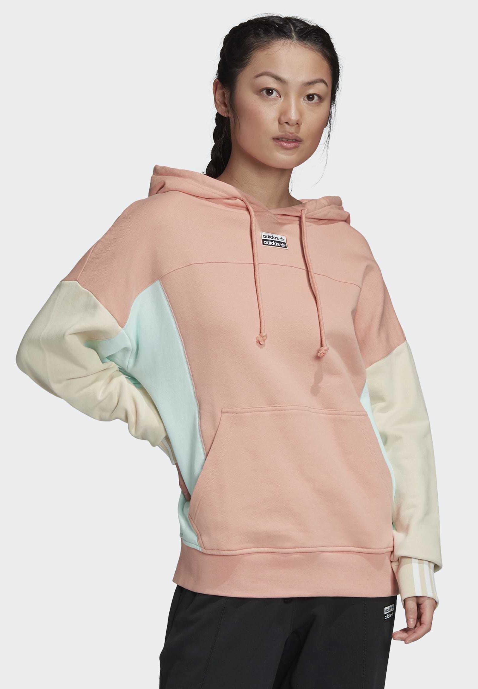 R.Y.V. HOODIE Kapuzenpullover pink