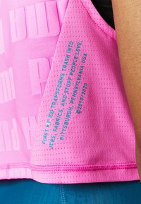 Puma - TRAIN FIRST MILE XTREME TANK - Sports shirt - luminous pink - 6