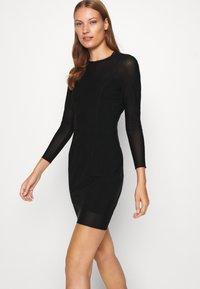 Calvin Klein Jeans - DOUBLE LAYER DRESS - Day dress - black - 3