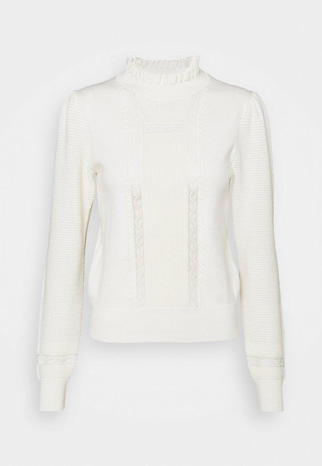 Trui - crystal white