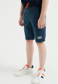 WE Fashion - Shorts - blue - 1