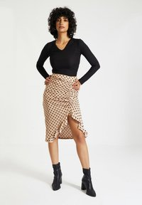 Trendyol - Pencil skirt - beige - 1