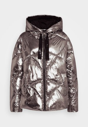 OUTERWEAR - Winter jacket - dark silver