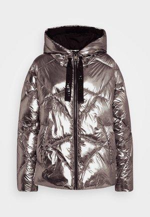 OUTERWEAR - Winterjas - dark silver