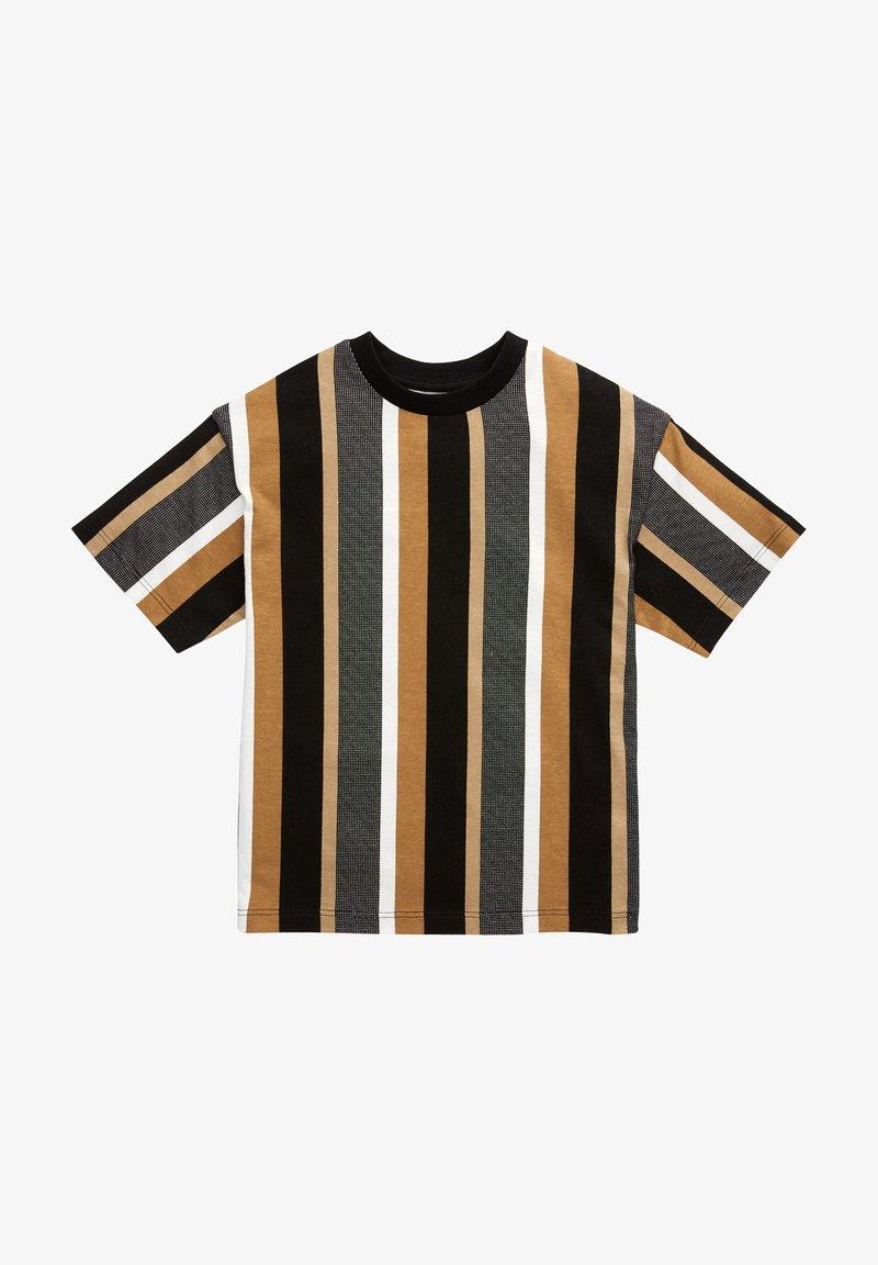 Next - Print T-shirt - tan