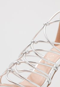 New Look - TOTTY - High heeled sandals - silver - 2