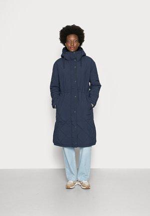 QUILTED COAT - Winter coat - sky captain blue