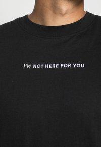 Night Addict - T-shirt imprimé - black - 4
