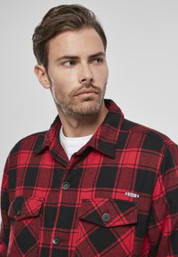 Brandit - Denim jacket - red/black - 6