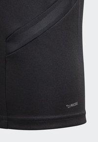 adidas Performance - TIRO 19 TRAINING TOP - Sportshirt - black - 4