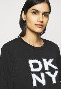 DKNY - STACKED LOGO  - Sweatshirt - black - 3