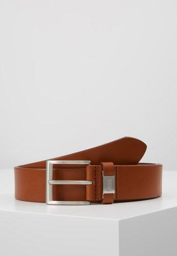 CONNIO - Belt business - medium brown