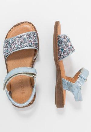 LORE SPARKLE MEDIUM FIT - Sandals - light blue