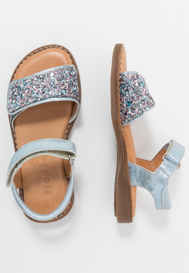 LORE SPARKLE MEDIUM FIT - Sandalias - light blue