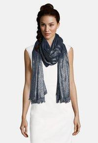 Vera Mont - STOLA IM GLITZER-LOOK - Scarf - dark blue/silver - 1