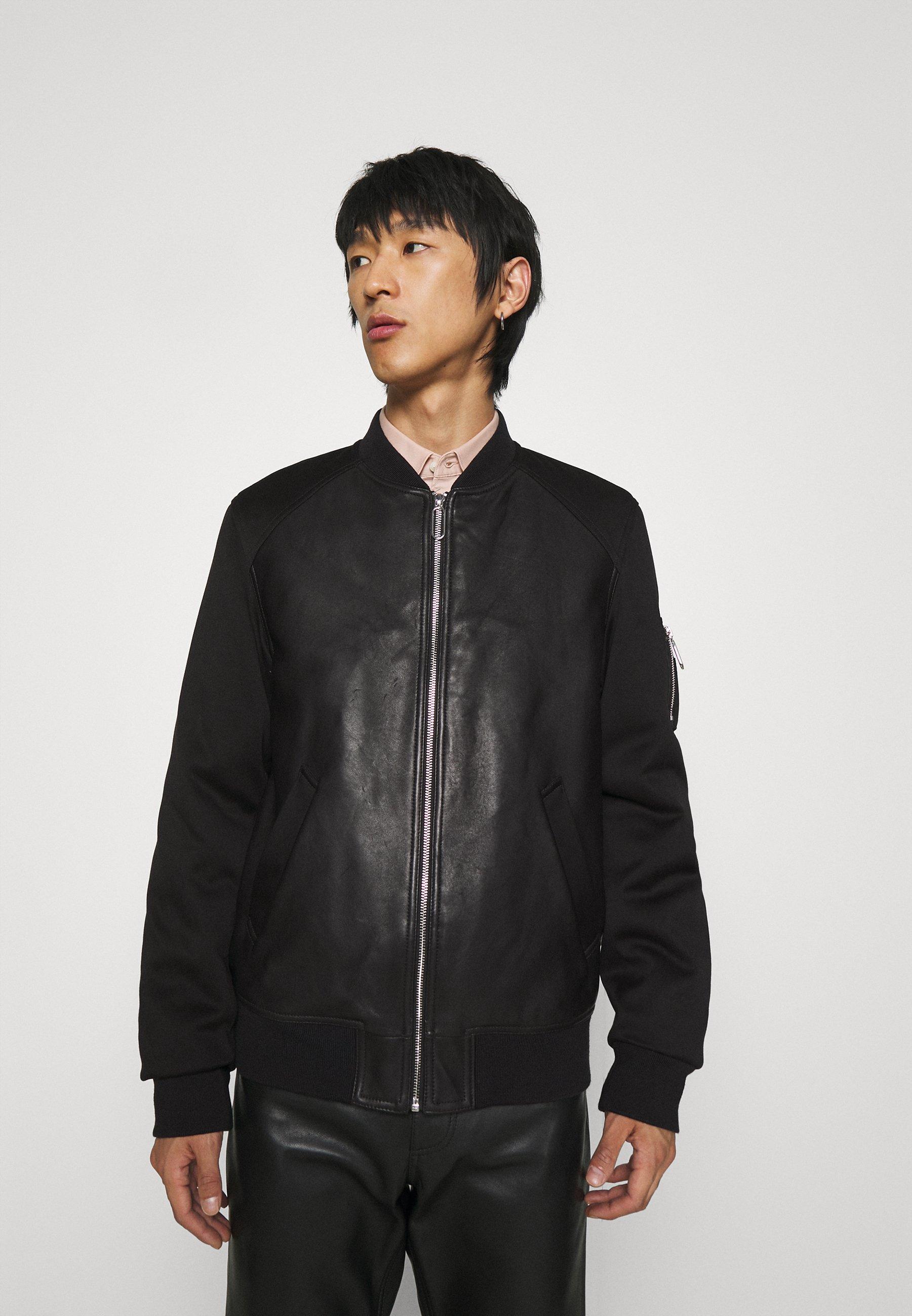 Men JACKET - Faux leather jacket