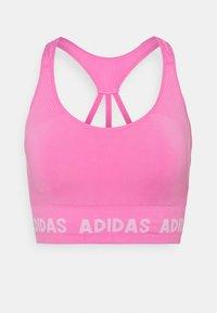 adidas Performance - AEROKNIT BRA - Light support sports bra - pink - 5