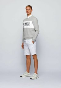 BOSS - SALBO - Sweatshirt - light grey - 1