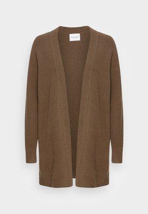 LONGSLEEVE - Cardigan - nutshell brown