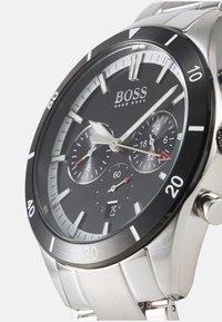 BOSS - SANTIAGO - Watch - silver-coloured/black - 3