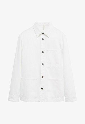 Džínová bunda - blanco
