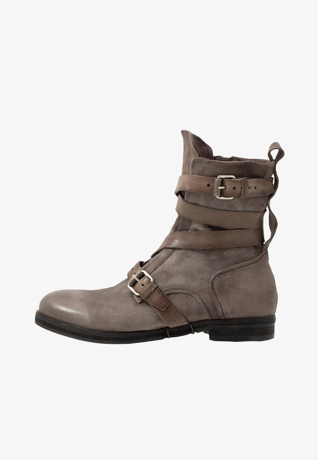 ACTON - Classic ankle boots - smoke