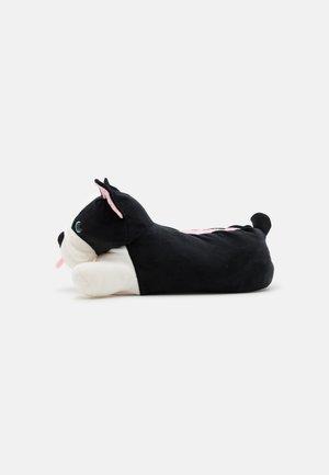 MENS DOG  - Kapcie - black/white