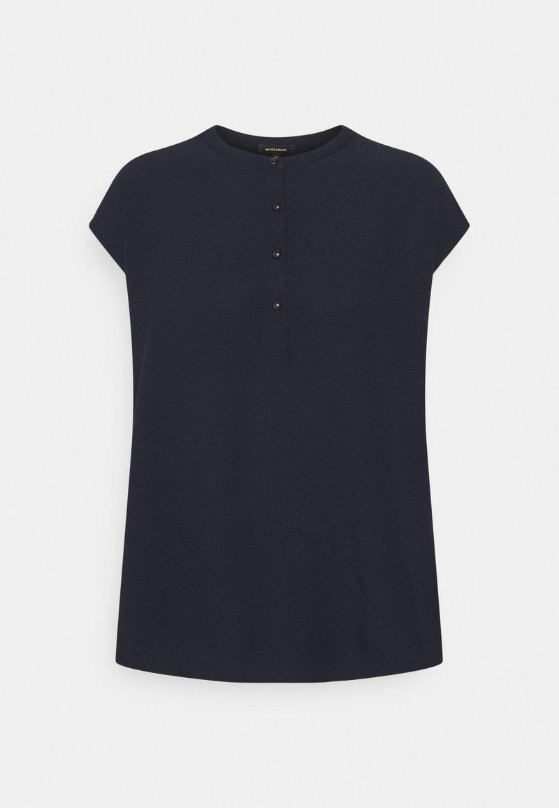More & More - Print T-shirt - marine