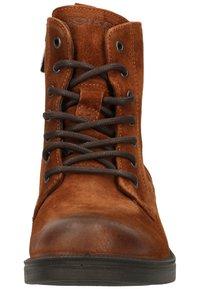 IGI&CO - Platform ankle boots - cognac - 5