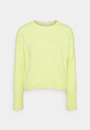 FLUFFY - Jumper - light yellow